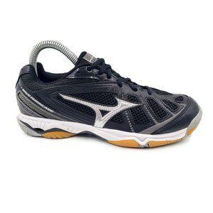 Mizuno Wave Hurricane Black Athletic Running Shoes